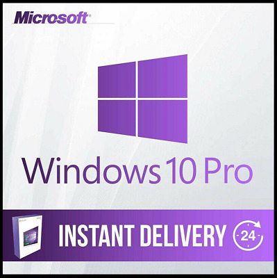 Windows 10 Pro Professional 32 & 64 Bit Activation Code License  Key Instant