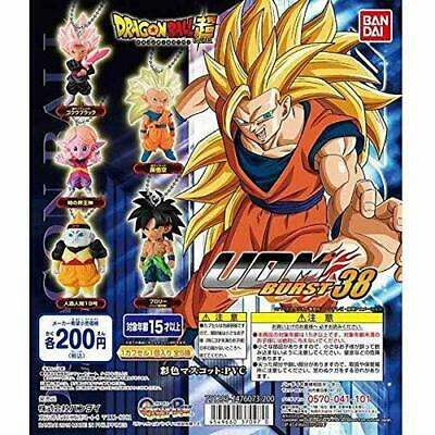 BANDAI DRAGON BALL Z Super UDM BURST Vol.38 Mini Figure All 5 set