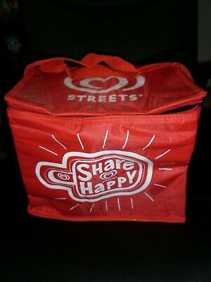 Streets Ice Cream Insulated Cooler Folding Bag Vintage Collectable Unused Oldie