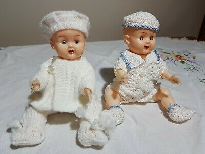 Two cute little Kader type dolls beautiful outfits