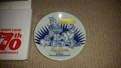 Toy Story Kiddy Land 70th Anniversary Collectable Plate Japan Promo Not For Sale