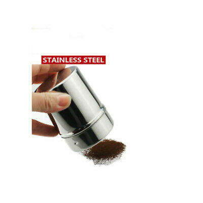 Stainless Steel Chocolate Shaker Icing Sugar Salt Cocoa Flour Coffee Sifter