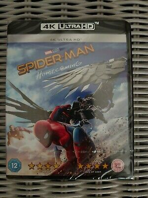 Spider-Man Homecoming 4K Ultra Hd Premium Uhd Blu-Ray Brand New + Sealed