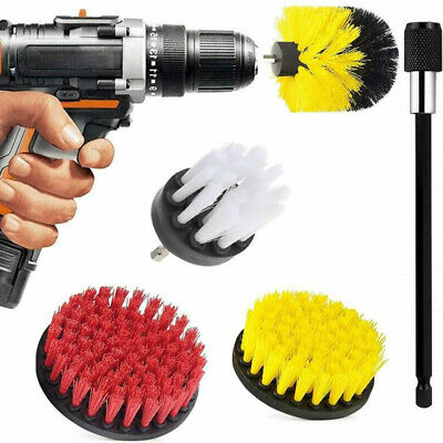 Drill Brush 5 Pack Attachment Set, Power Scrubber Brush Cleaning Kit For Bath AU