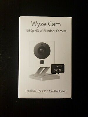 WYZE CAM v2 1080p HD Wireless Smart Home Camera with 2 way Audio/night vision