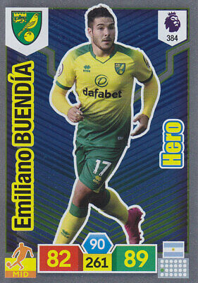 Panini Adrenalyn XL - Premier League 2019-20 - E.Buendia - Norwich - # 384  HERO