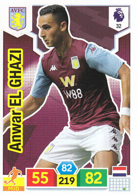 Panini Adrenalyn XL - Premier League 2019-20 - A.El Ghazi - Aston Villa - # 32