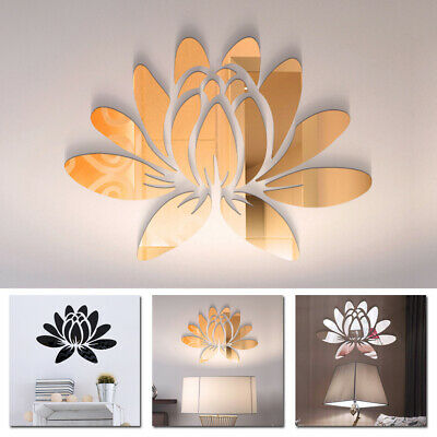 Art Wall Sticker Decal Home Decor Blooming Removable 25*18cm 3D Modern
