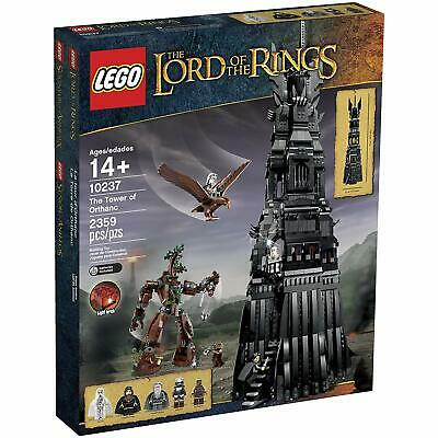 LEGO Lord of the Rings The Tower of Orthanc (10237) New in Sealed Box