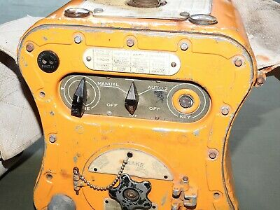 "US Army AAF WW2 PILOT ""GIBSON GIRL"" BC-778-D FLIGHT SURVIVAL RADIO Vtg Fly RARE"
