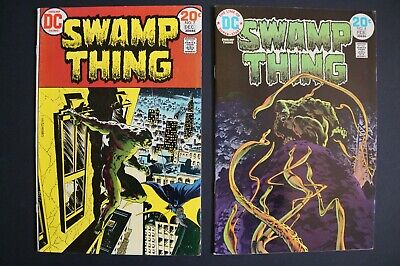 Swamp Thing Vol 1 (1972) Issues 7 and 8 – classic Bernie Wrightson - very nice