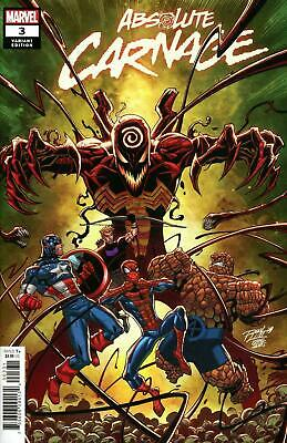 Absolute Carnage 3 2019 NM Ron Lim variant Donny Cates Ryan Stegman