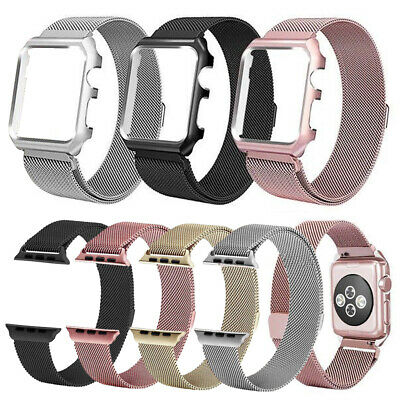 For Apple Watch Milanese Loop Band Stainless Steel iWatch Strap Series 5 4 3 2