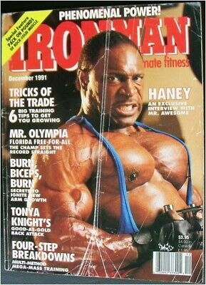 IRONMAN for ultimate fitness bodybuilding muscle / Lee Haney