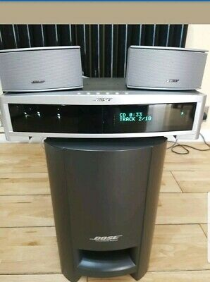 Bose 321 Gs Series Iii Hdmi Home Theater  System.