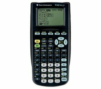 TEXAS INSTRUMENTS Calculatrice graphique TI-82 stats.fr