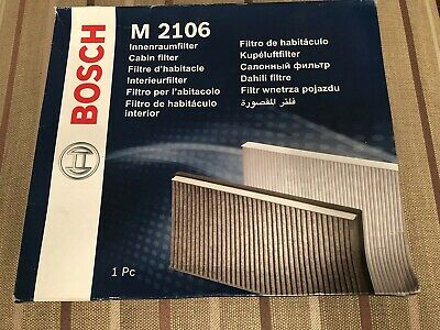 Pollen Filter Suitable for Various Vehicles Bosch Cabin 1987432106