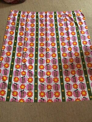 Vintage Retro Curtains Fabric Pippin By Sundour