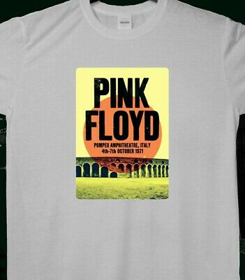 Pink Floyd - Live in Pompeii T-Shirt Extra Large