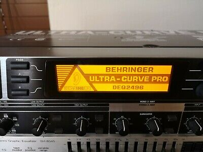 Beringer Ultra-Curve Pro DEQ2496 24bit Audio Processor
