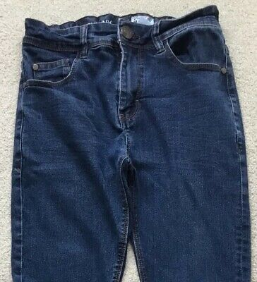 "Next Age 11 Yrs Boys Stretch Skinny Jeans, Leg 25"". Good Condition"