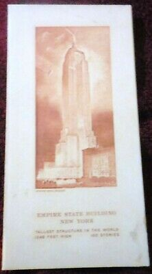 Empire State Building New York Menu Tallest Structure In The World