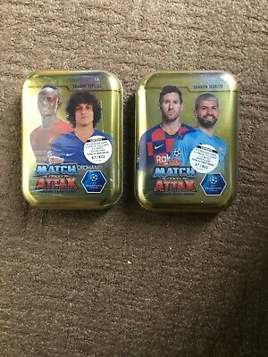 2xTopps Match Attax 2019/20 Mini Tin Brand New Sealed 19/20 Season