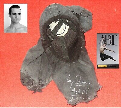 American Ballet Theatre Signed Ballet Slippers Shoes Principal Cory Stearns + Pb