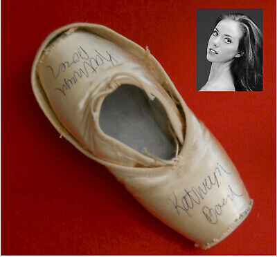 American Ballet Theatre Kathryn Boren Signed Pointe Shoes Slippers