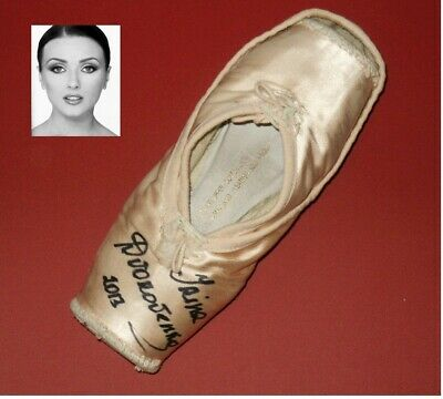 American Ballet Theatre Signed Pointe Shoes Irina Dvorovenko -The Americans Cast