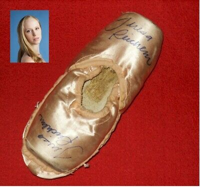 New York City Ballet Signed Pointe Shoes Slippers Principal Teresa Reichlen