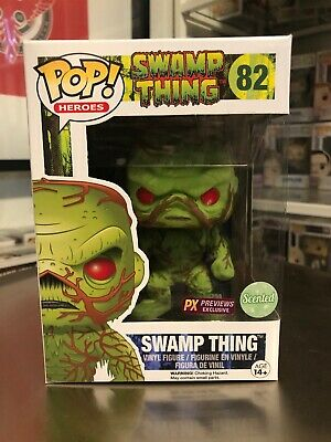 Funko Pop! DC Heroes Swamp Thing #82 Flocked Scented Exclusive