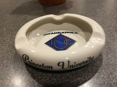 Vintage Retro Princeton Quadrangle Club Ashtray