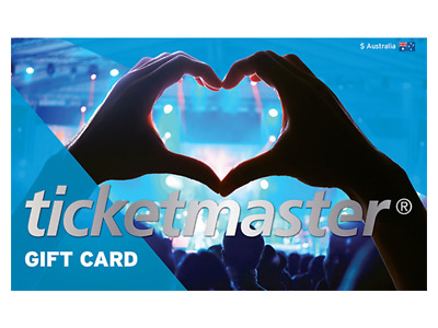 Ticketmaster Gift Card ($100)