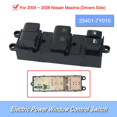 1 * Universal Electric Power Window Control Switch For 2004-2008 Nissan Maxima