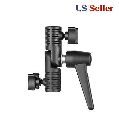 Light stand clamp Boom arm adapter Grip for extension pole telescoping rod