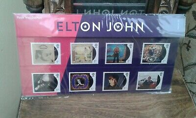 Elton John..(Collectable)..New  Presentation Pack....royal Mail Stamps..2019