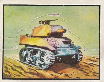 1950 Topps Freedom's War Short Printed Die-Cut Tank Card #99