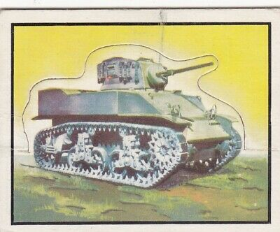 1950 Topps Freedom's War Short Printed Die-Cut Tank Card #103