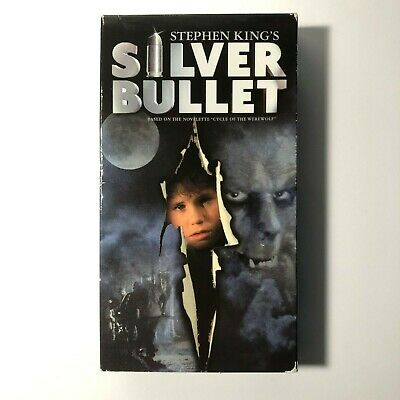 Silver Bullet Vhs,Stephen King Horror.