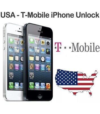 T MOBILE/Metro Pcs USA  UNLOCK SERVICE FOR IPHONE 6S / 6S+ / 6 / 6+ / SE / 5S