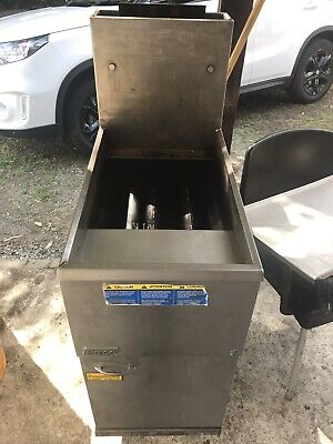 Commercial deep fryer free standing