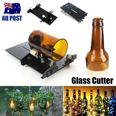 Beer Glass Wine Bottle Cutter Cutting Machine Jar DIY Kit Craft Recycle Art Tool