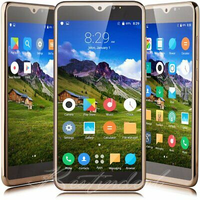 """2019 Android 8.1 Mobile Cell Phones Quad Core Dual SIM 6.0"""" Smartphone Unlocked"""
