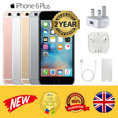 Apple iPhone 6 Plus 16GB 64GB Unlocked SIM Free LTE Smartphone 3 Colors Choice