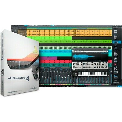 PreSonus Studio One 4 Pro Upgrade from Producer or Professional Boxed Version