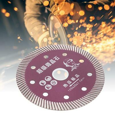 Ultra-Thin Diamond Saw Blade Corrugated Tooth Dry/Wet Cutting Disc for Tile New
