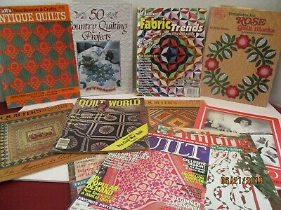 11 Quilting Pattern Books