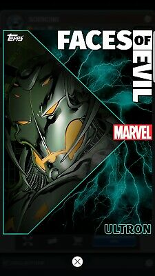 Topps Marvel Collect Ultron Faces Of Evil Static Week 1  Digital Card