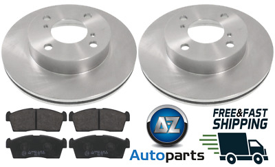 ONWARDS SUZUKI ALTO 1.0 FRONT BRAKE PADS /& DISCS SET VENTED 230MM 09